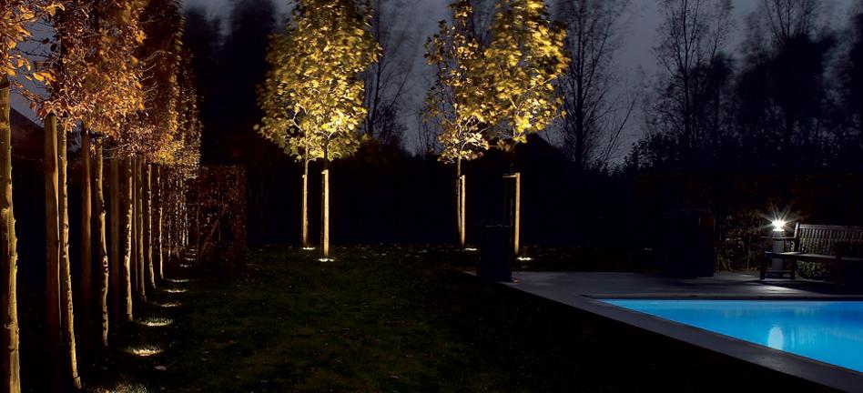 iluminacion paisajismo