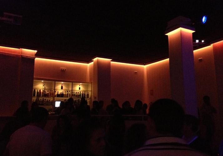 iluminación discoteca